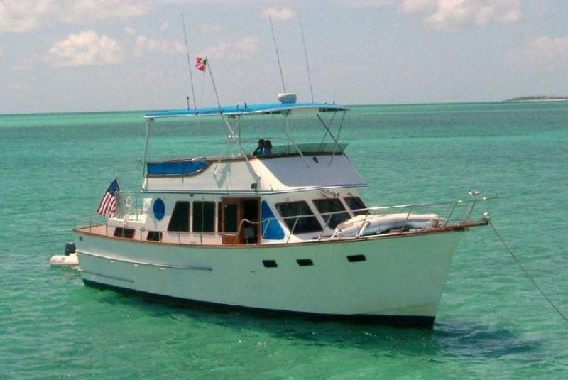1981 Ocean Alexander TRI Cabin Power Boat For Sale Www