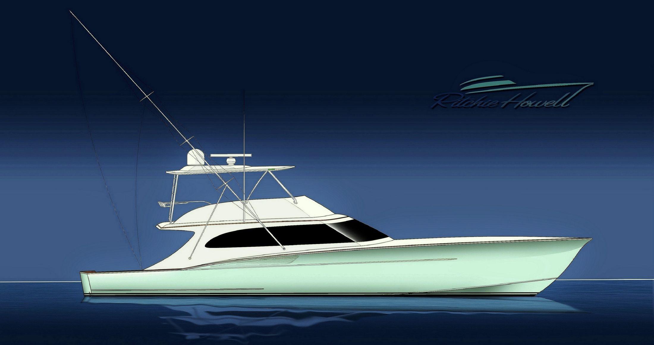 2019 Ritchie Howell Custom Carolina Sportfish Power Boat For Sale Wwwyachtworldcom