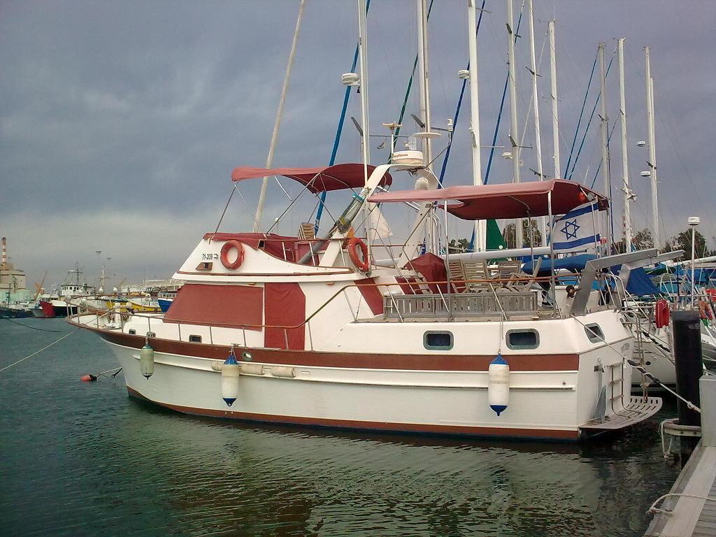 1989 Albin 43 Trawler Power Boat For Sale Wwwyachtworldcom