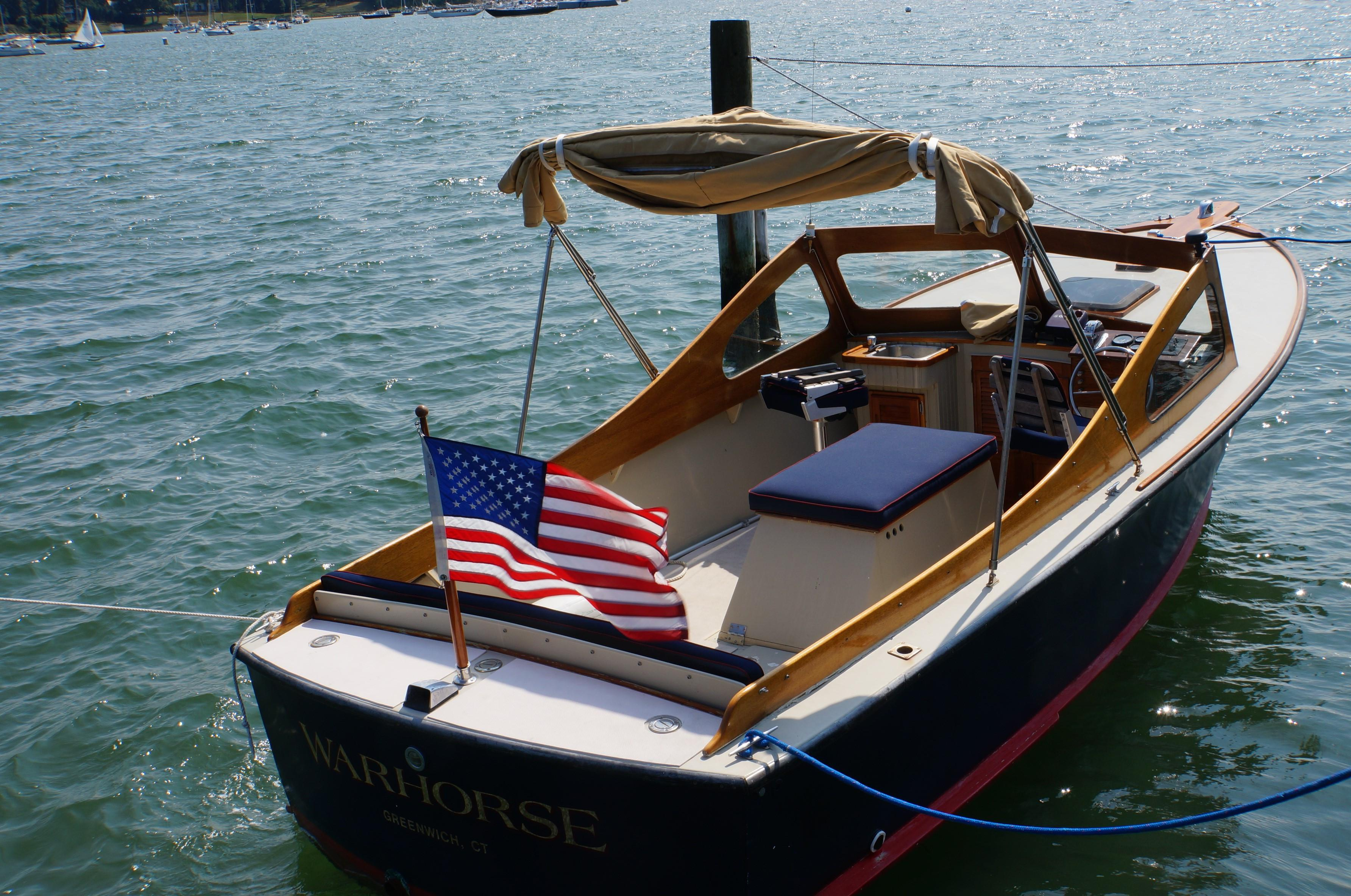 1956 Antique 22 Picnic Boat Power Boat For Sale - www.yachtworld.com