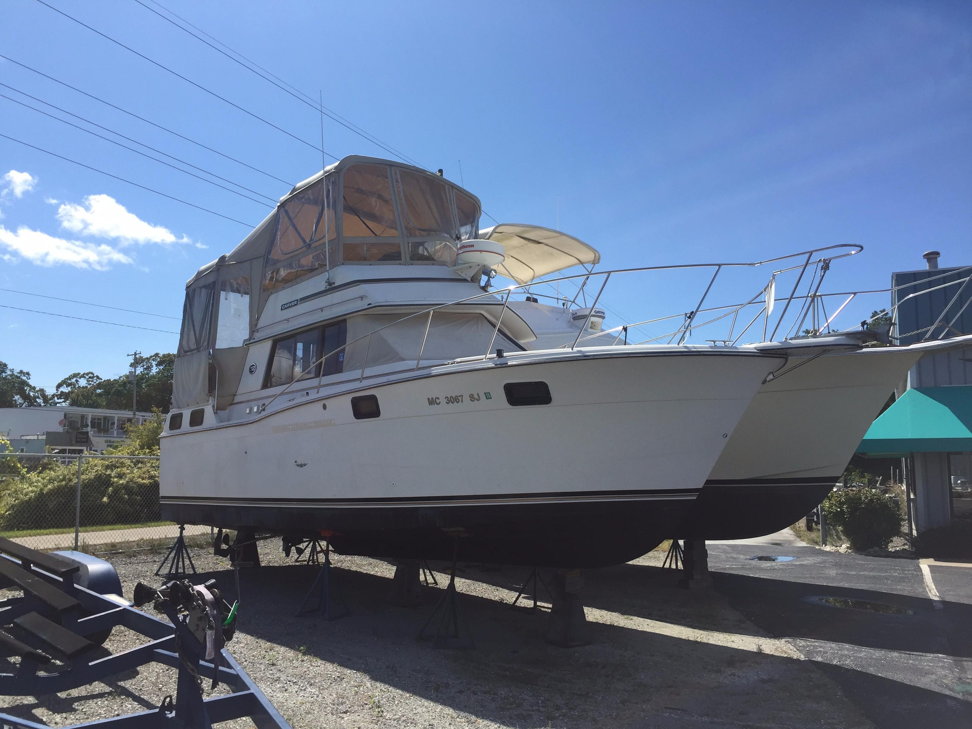 1989 Carver 3207 Aft Cabin Power Boat For Sale Www