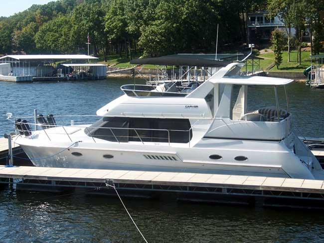 2001 Carver 406 MotorYacht Power Boat For Sale Www