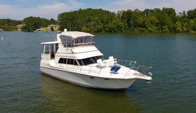 1989 Trojan 12 Meter Motor Yacht Power Boat For Sale Www