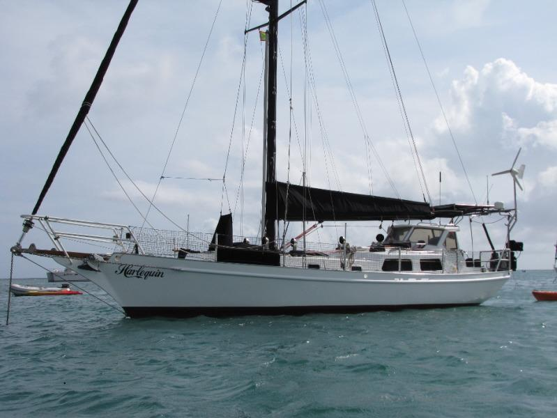1999 Hout Bay Yachts Dudley Dix 44 Sail Boat For Sale