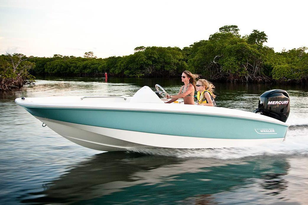 2017 Boston Whaler 150 Super Sport Power Boat For Sale