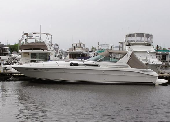 1993 Sea Ray 400 Express Cruiser Power Boat For Sale Www