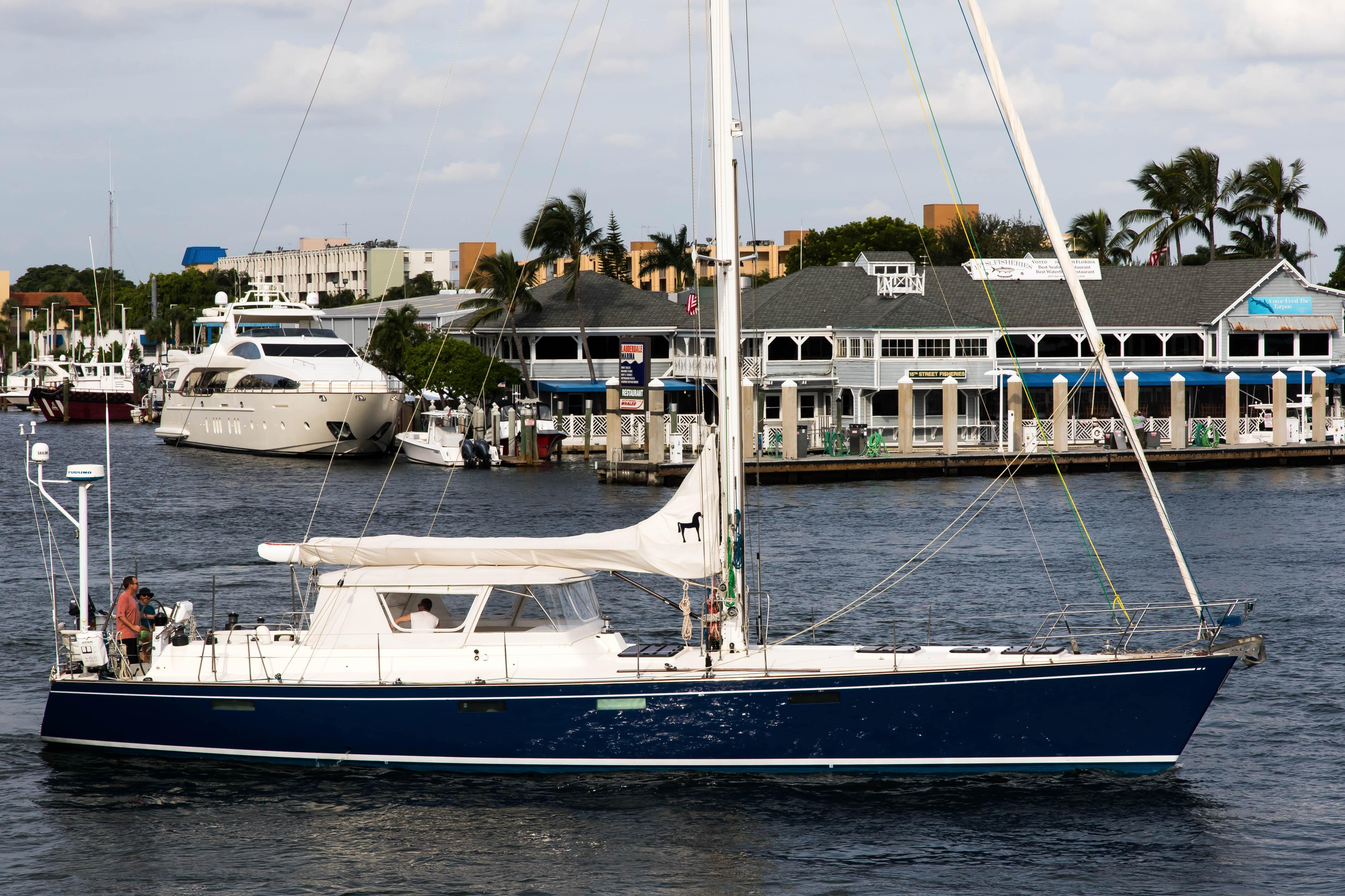 1987 Deerfoot 2 62 Sail Boat For Sale Wwwyachtworldcom