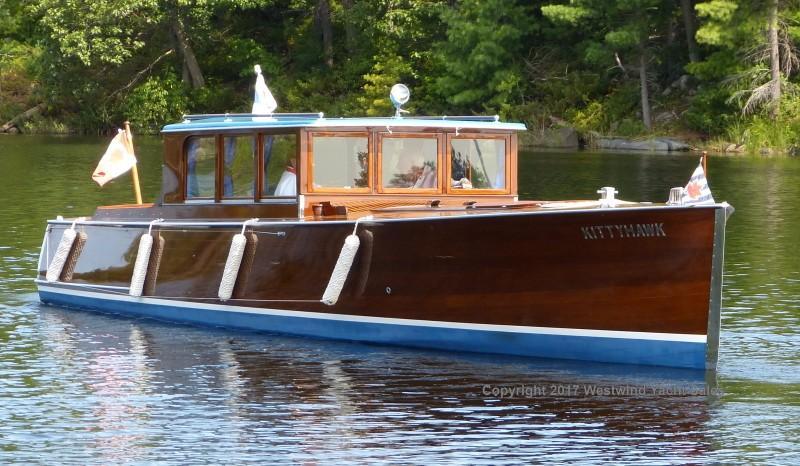 1929 Gidley 32 Gull Commuter Power Boat For Sale Www
