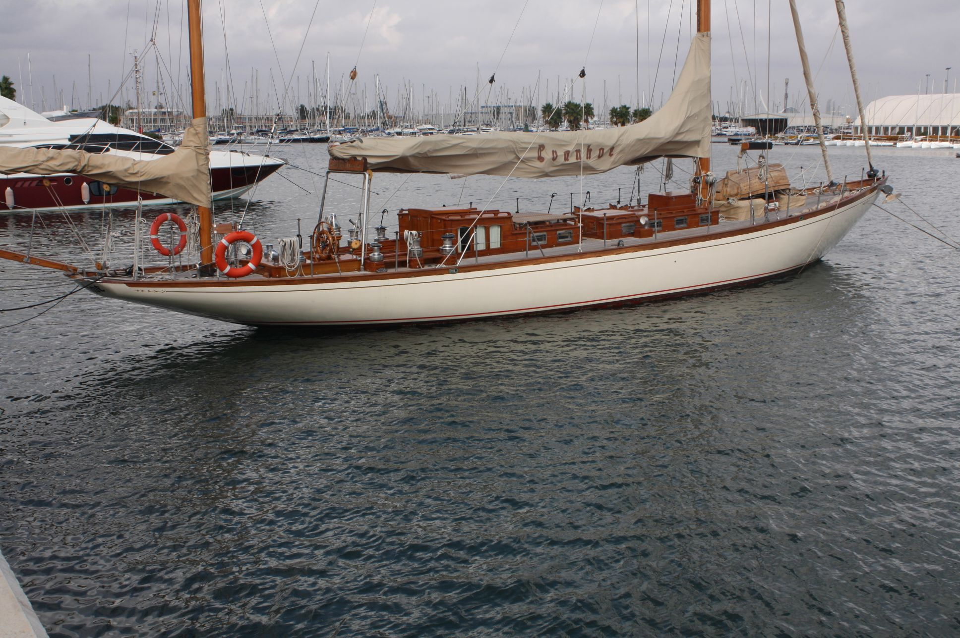 1938 Classic Tore Holm Ivanhoe Sail Boat For Sale Www