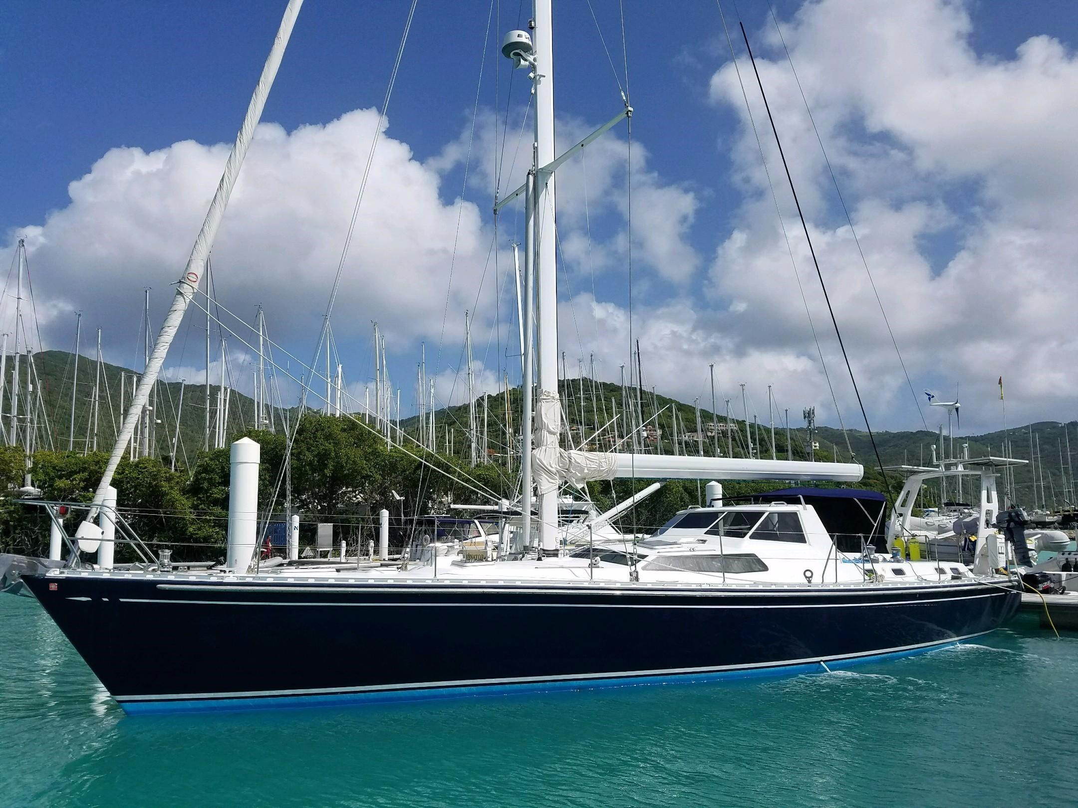 hight resolution of 2001 islander 56 sail boat for sale www yachtworld com
