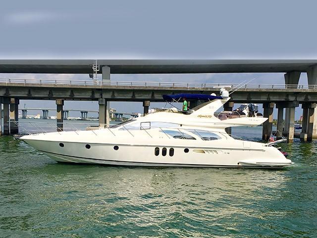 2007 Azimut 62 Flybridge Power Boat For Sale