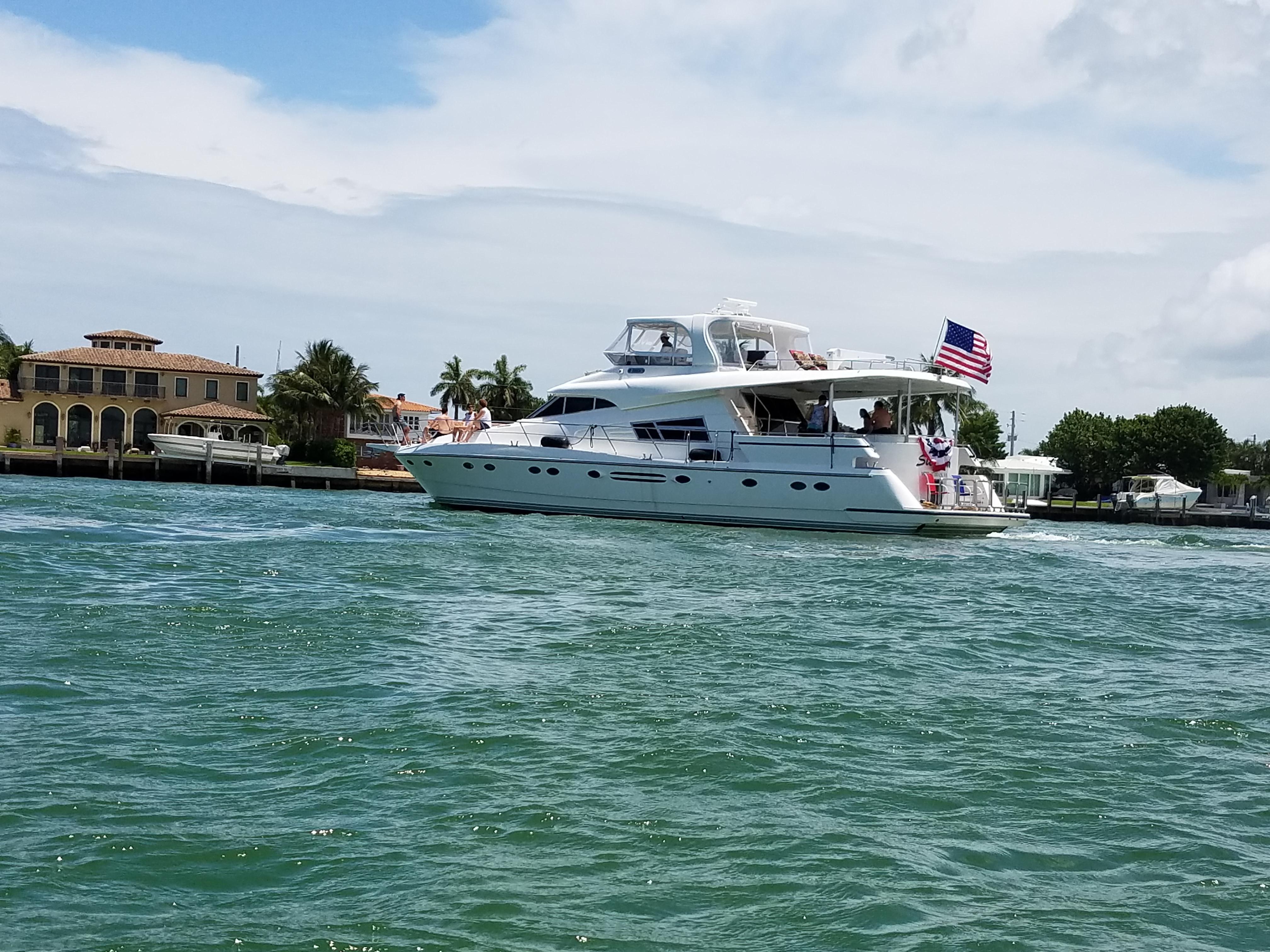 2002 Johnson Motor Yacht 70 Power Boat For Sale Www