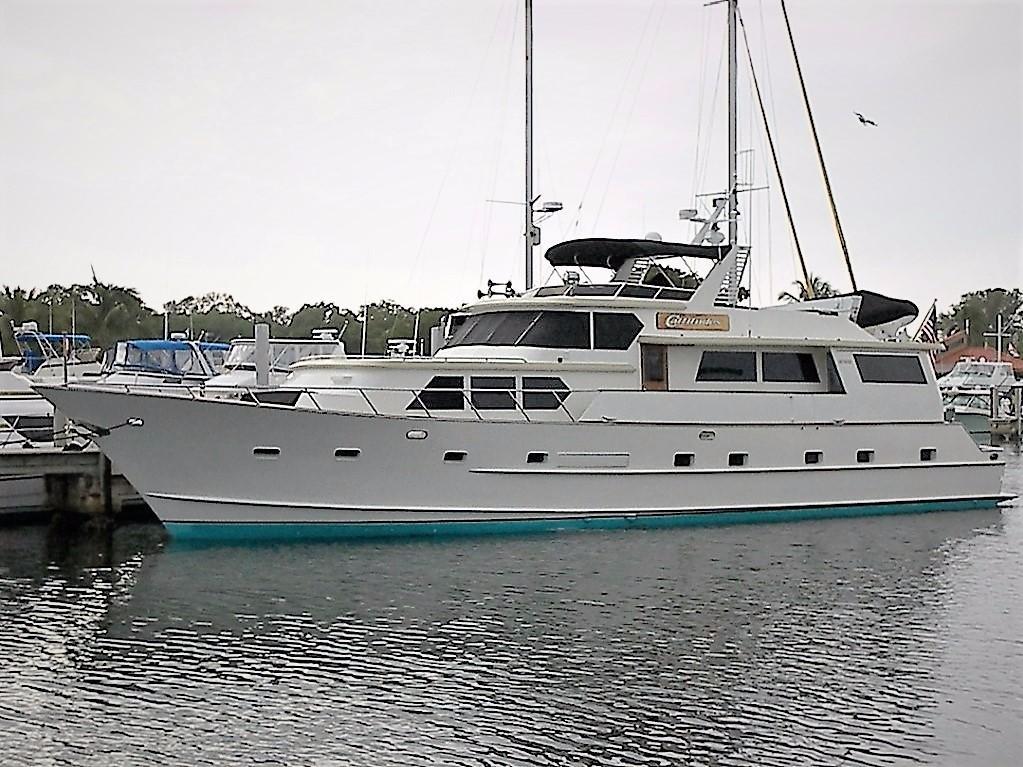 1984 Broward Motor Yacht Power Boat For Sale Www