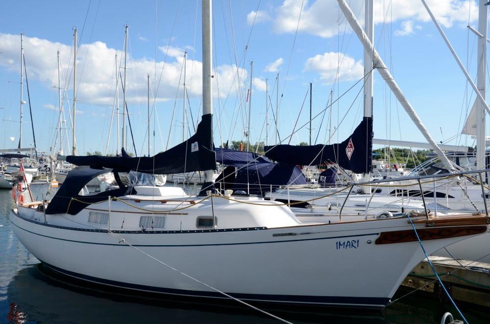 1981 Bayfield 32C Sail Boat For Sale Wwwyachtworldcom
