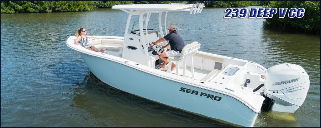 2017 Sea Pro 239CC Power Boat For Sale wwwyachtworldcom