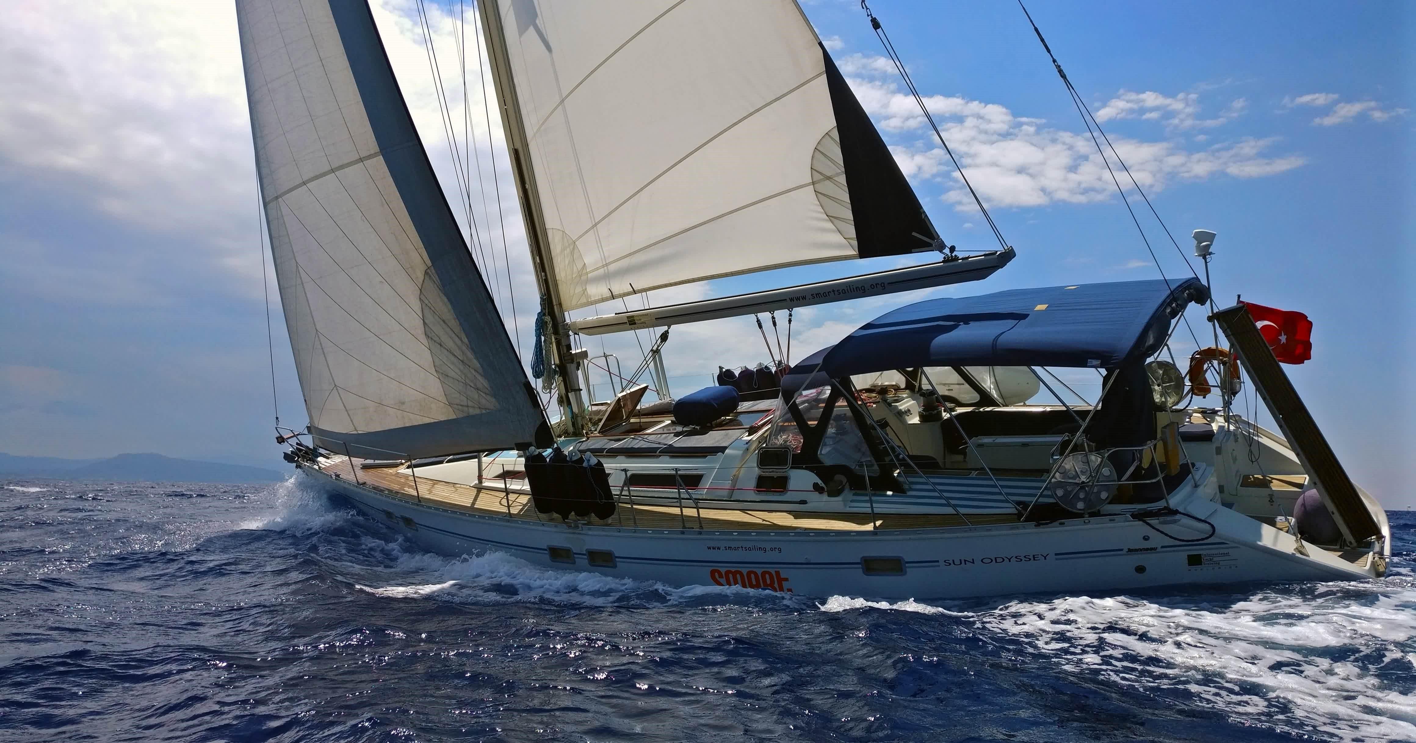 1991 Jeanneau Sun Odyssey 51 Sail Boat For Sale Www