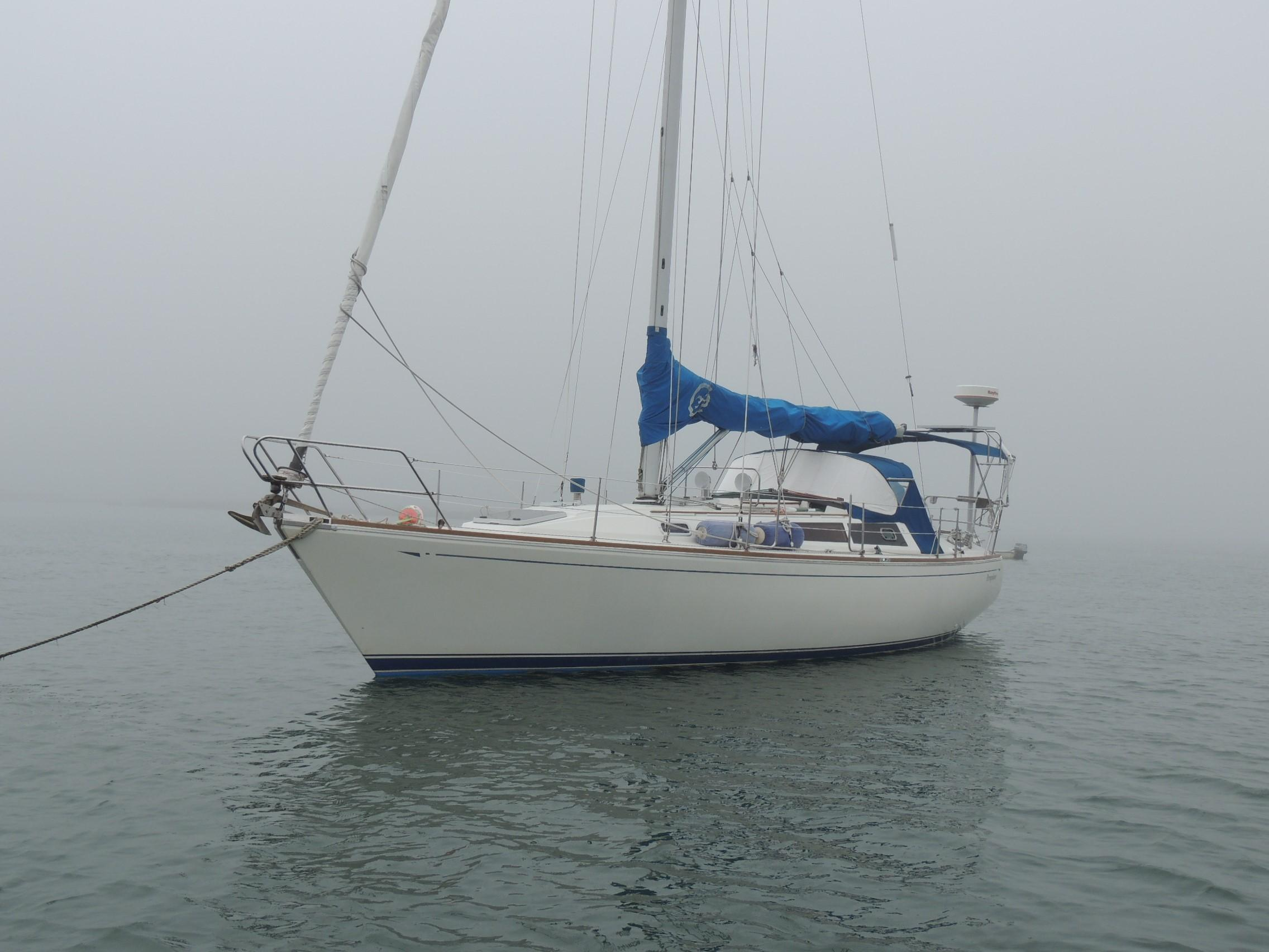 1989 CAL 39 MKIII Wing Keel Sail Boat For Sale Www