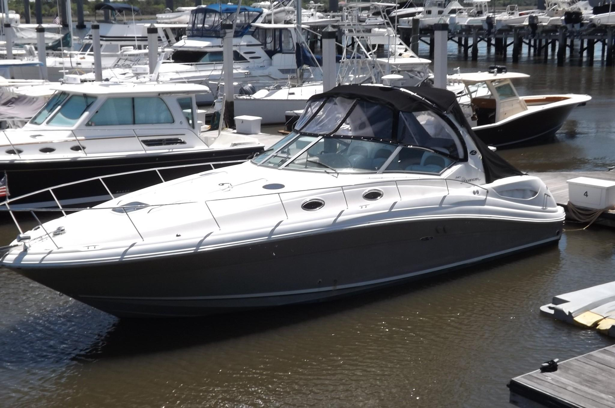 1997 sea ray 400 sedan bridge power boat for sale www yachtworld com2007 sea ray 340 [ 2048 x 1360 Pixel ]