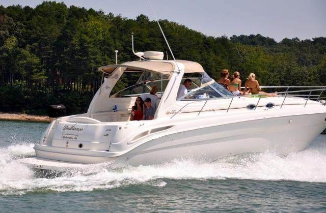 2000 Sea Ray 380 Sundancer Power Boat For Sale Www