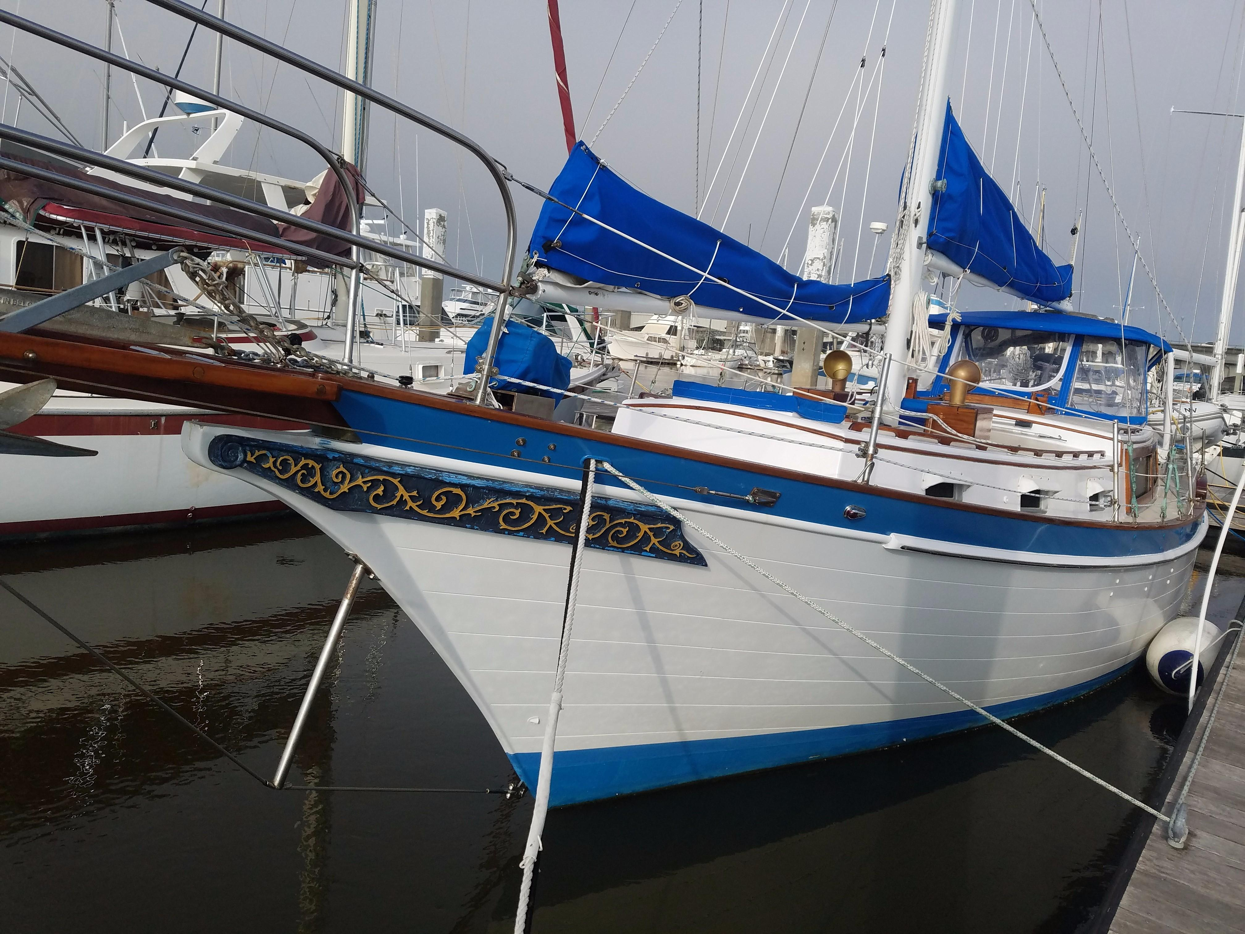 1975 Downeaster 38 Sail Boat For Sale Wwwyachtworldcom