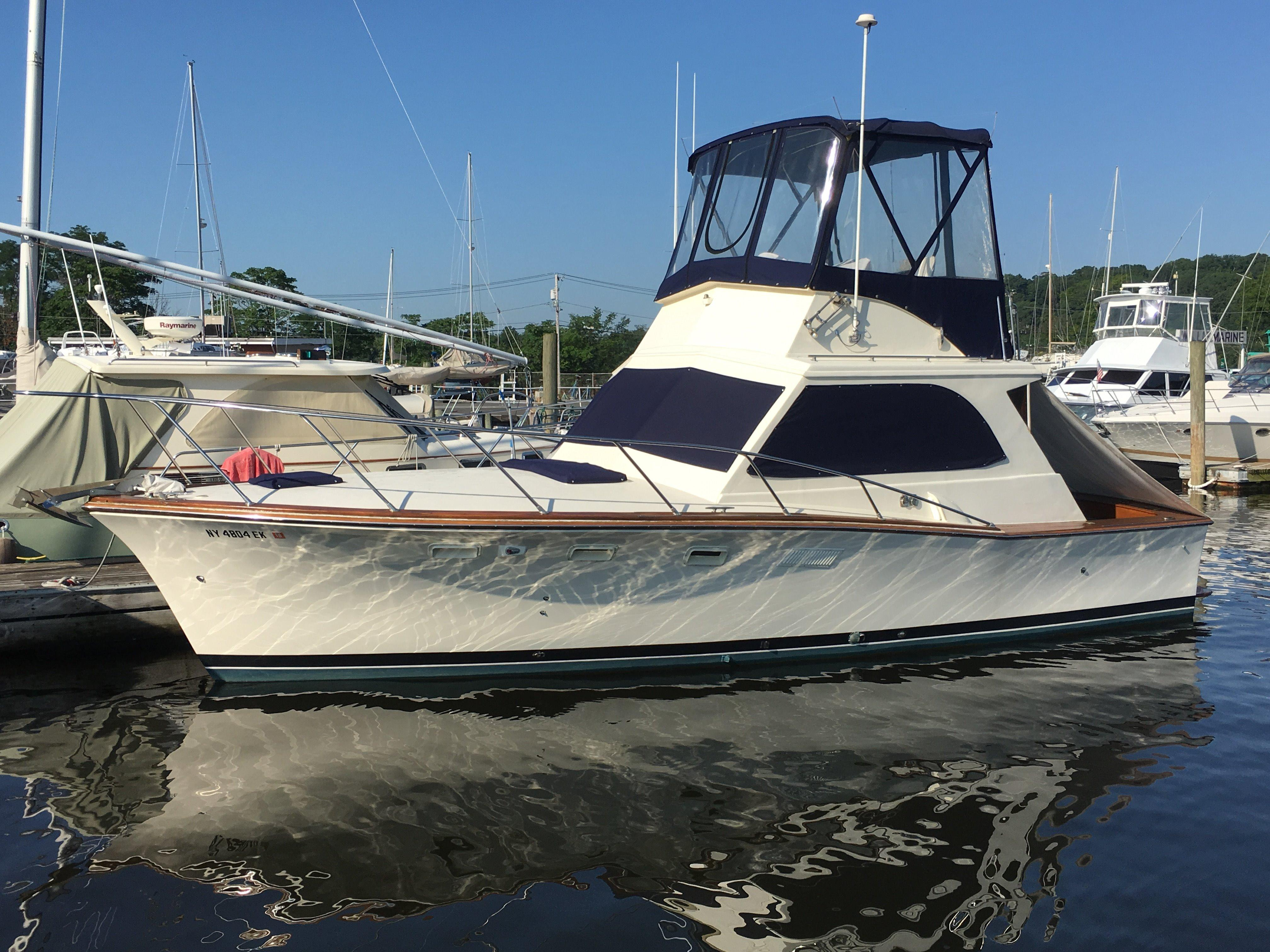 1974 Egg Harbor 33 Convertible Power Boat For Sale  www