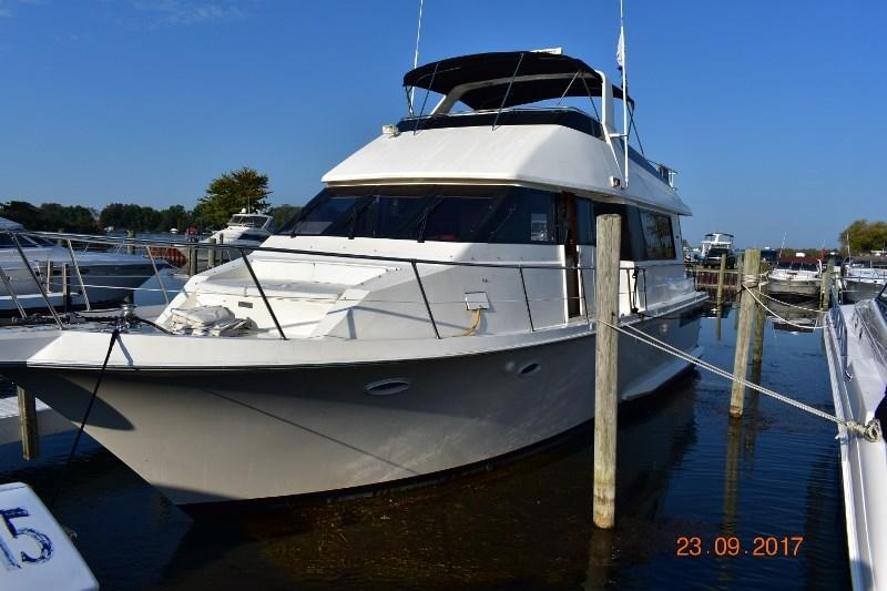 1990 Viking 50 Motor Yacht Power Boat For Sale Www