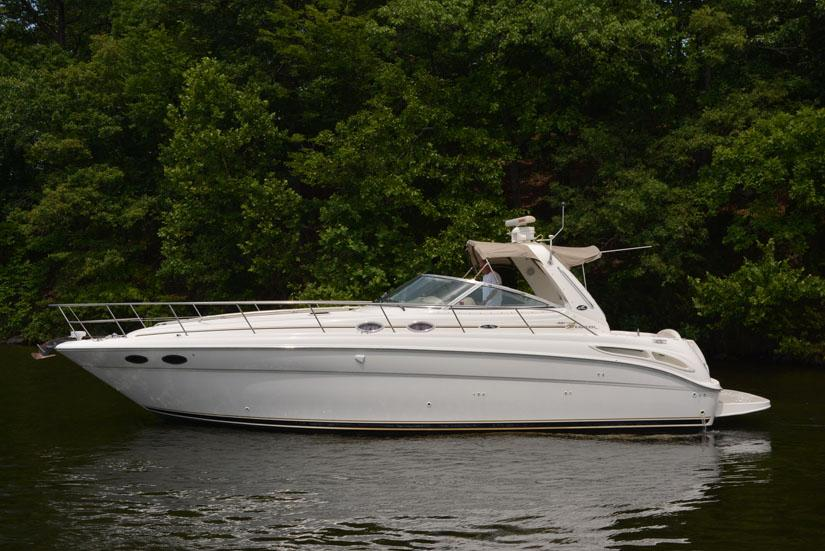 2001 Sea Ray 380 Sundancer Power Boat For Sale Www