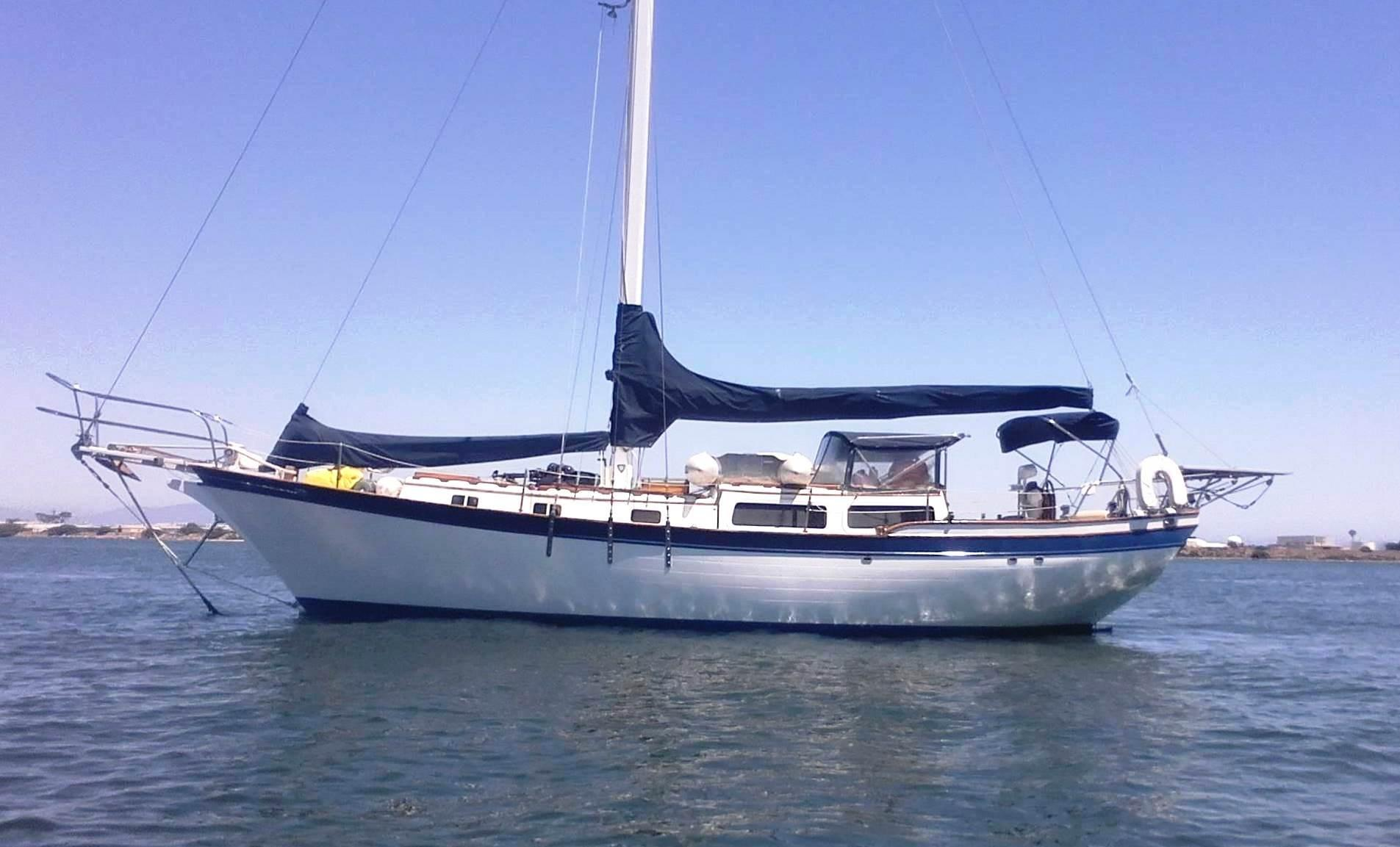 1979 Downeaster 38 Sail Boat For Sale Wwwyachtworldcom