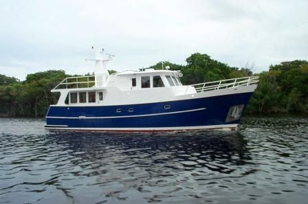2002 Real Ships 57 Pilothouse Power Boat For Sale Www