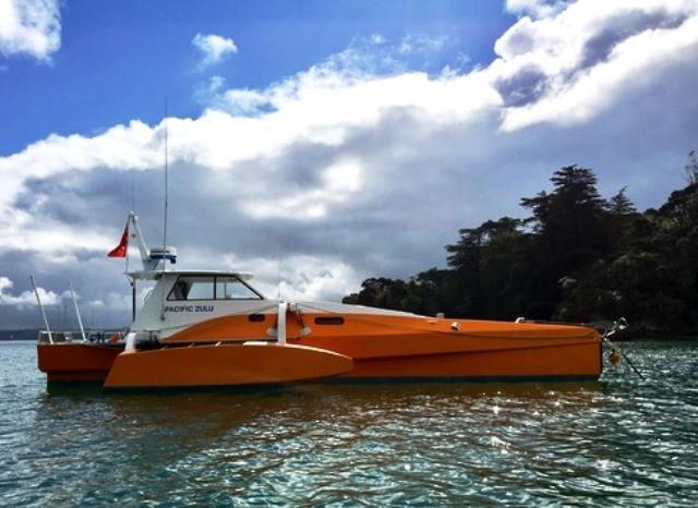 2010 Custom Long Range Power Trimaran Power Boat For Sale