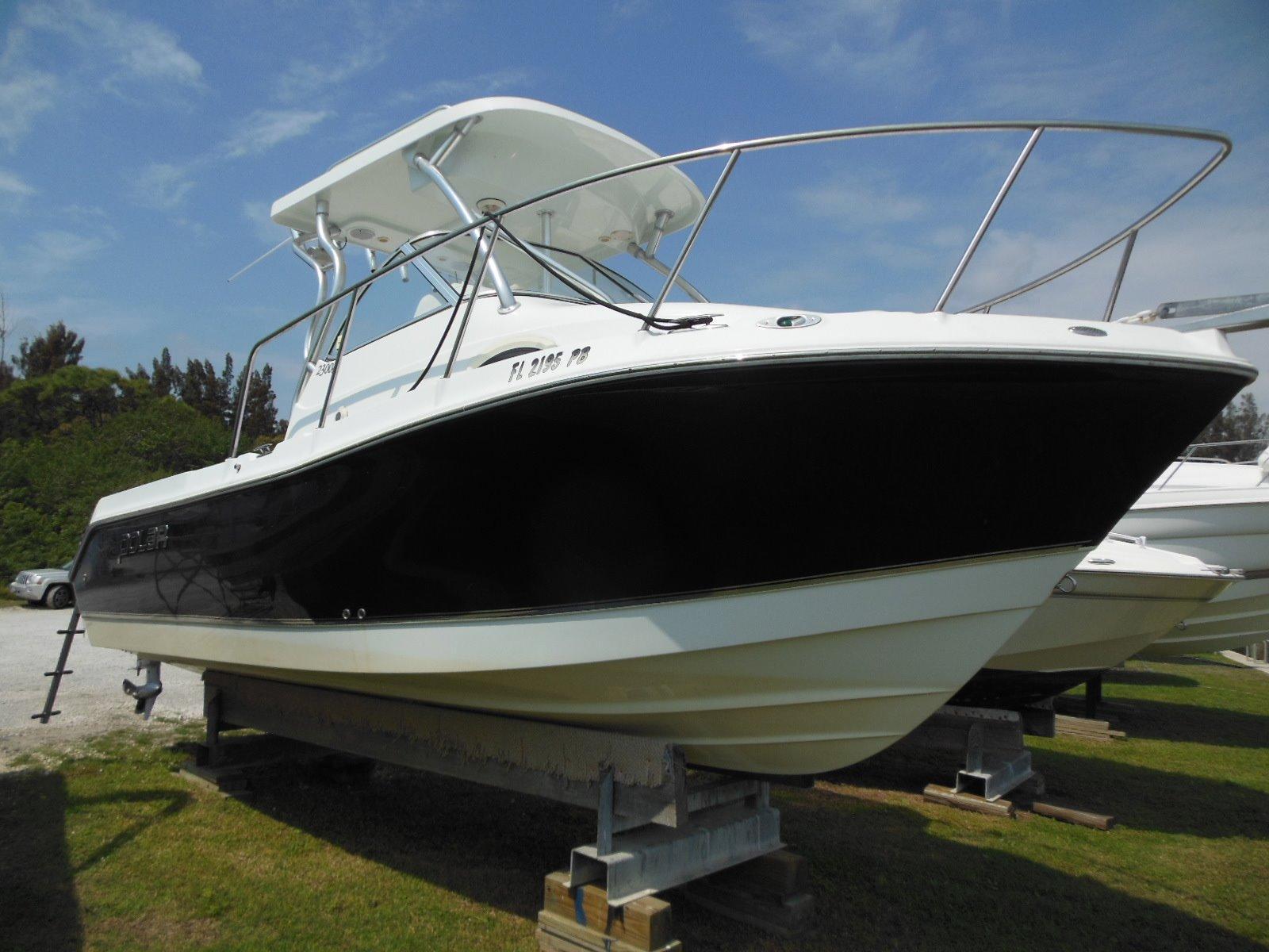 2009 Polar 2300 Walkaround Power Boat For Sale Www