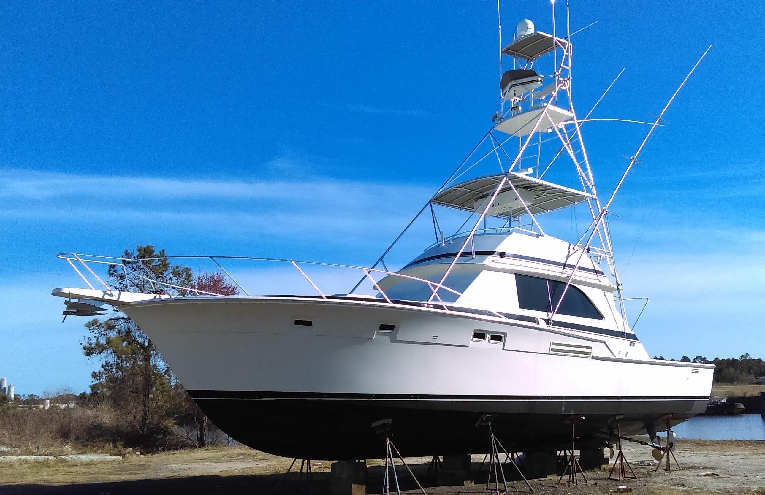 1985 Bertram 46 Convertible Power Boat For Sale Www