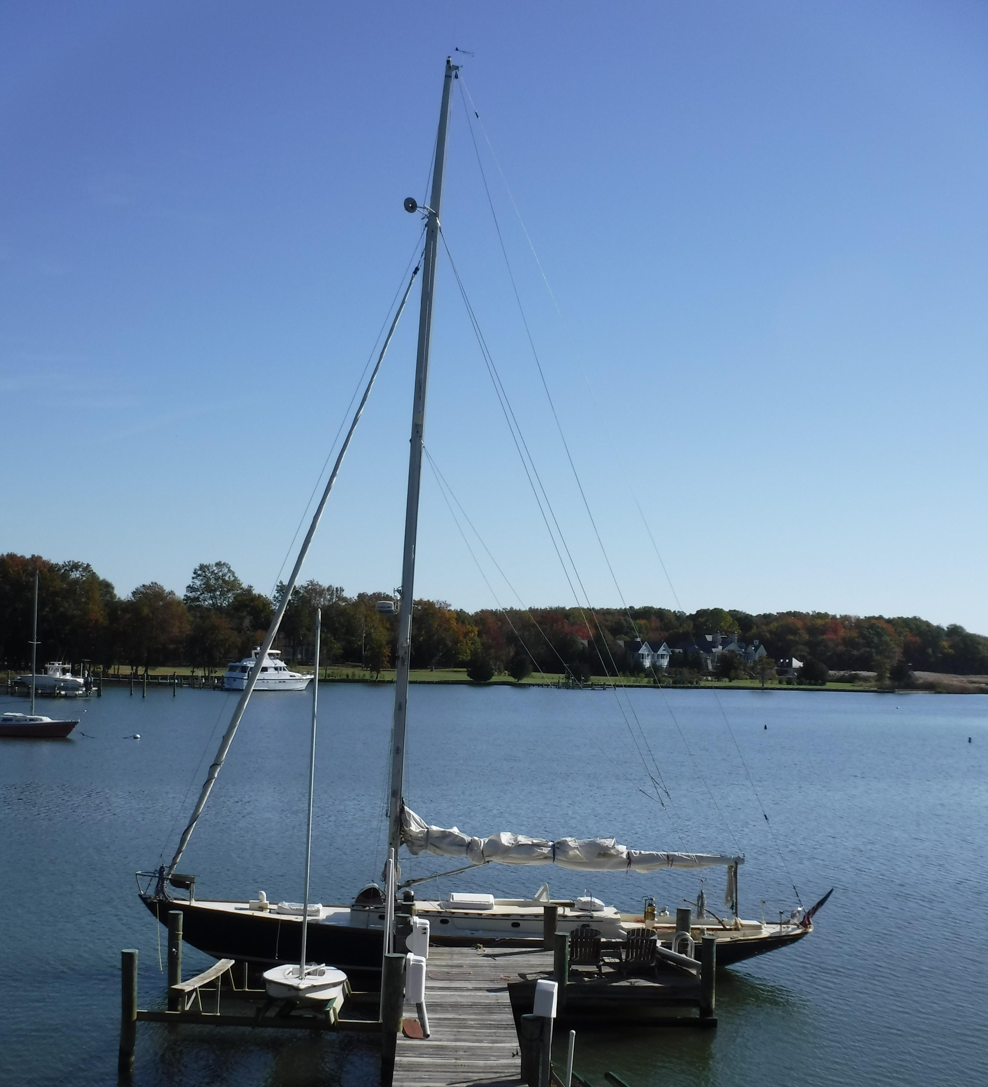 1936 Sparkman Amp Stephens New York 32 Sail Boat For Sale