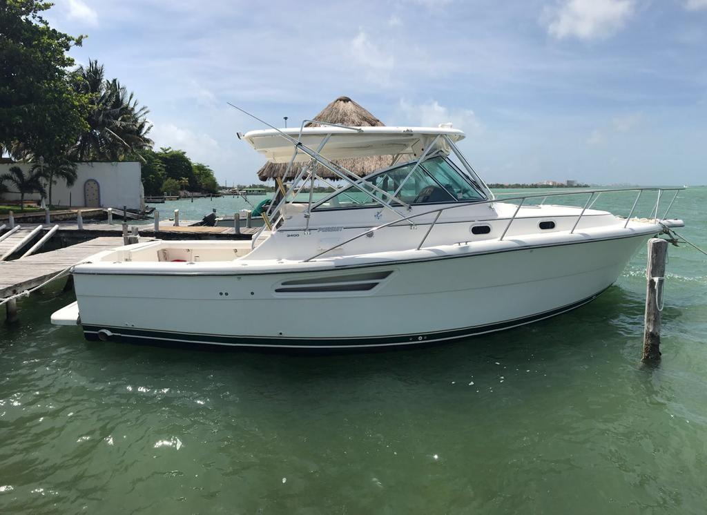 2002 Tiara Pursuit 3400 Express Power Boat For Sale Www