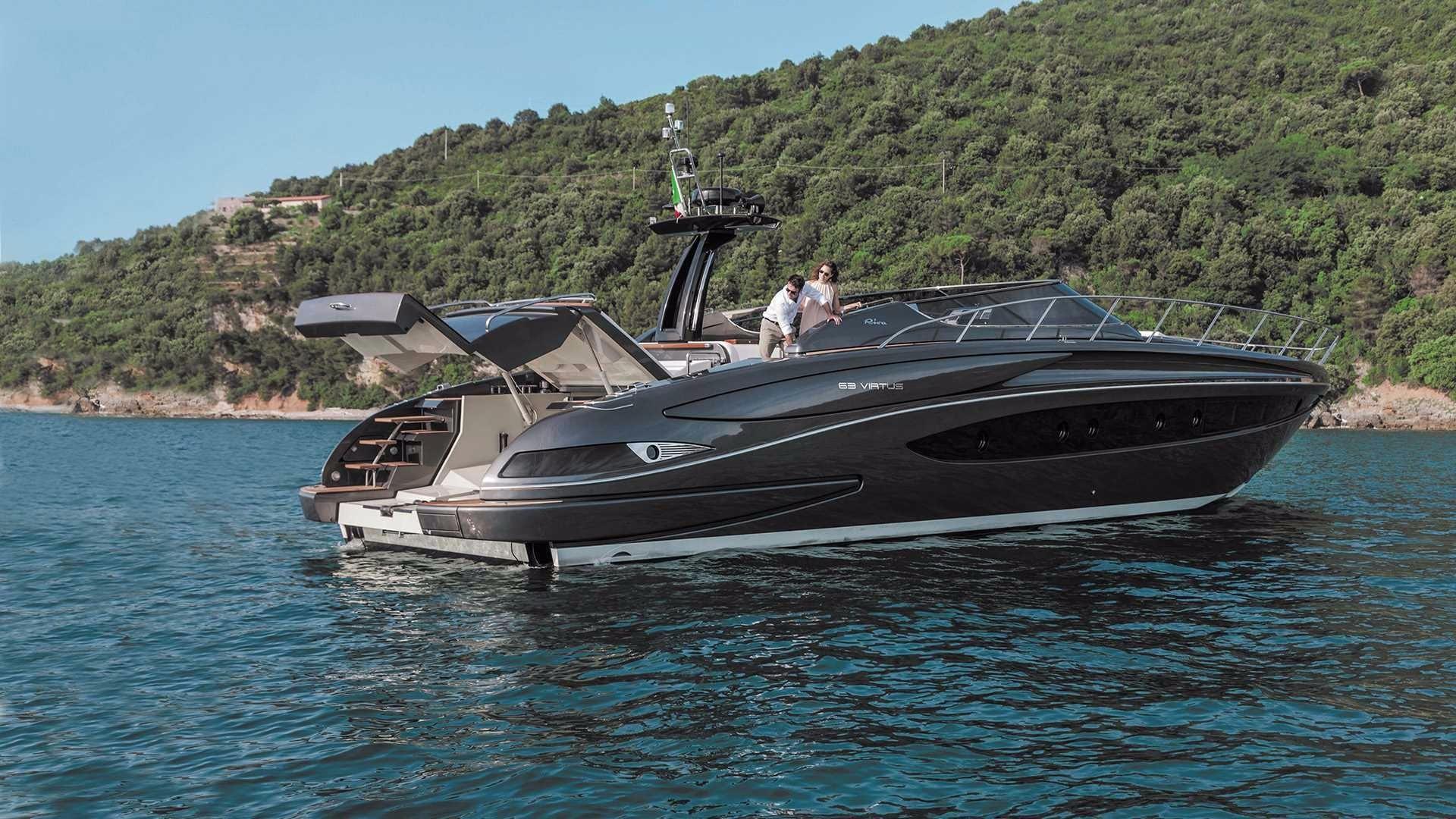 2017 Riva 63 Virtus Power Boat For Sale Wwwyachtworldcom