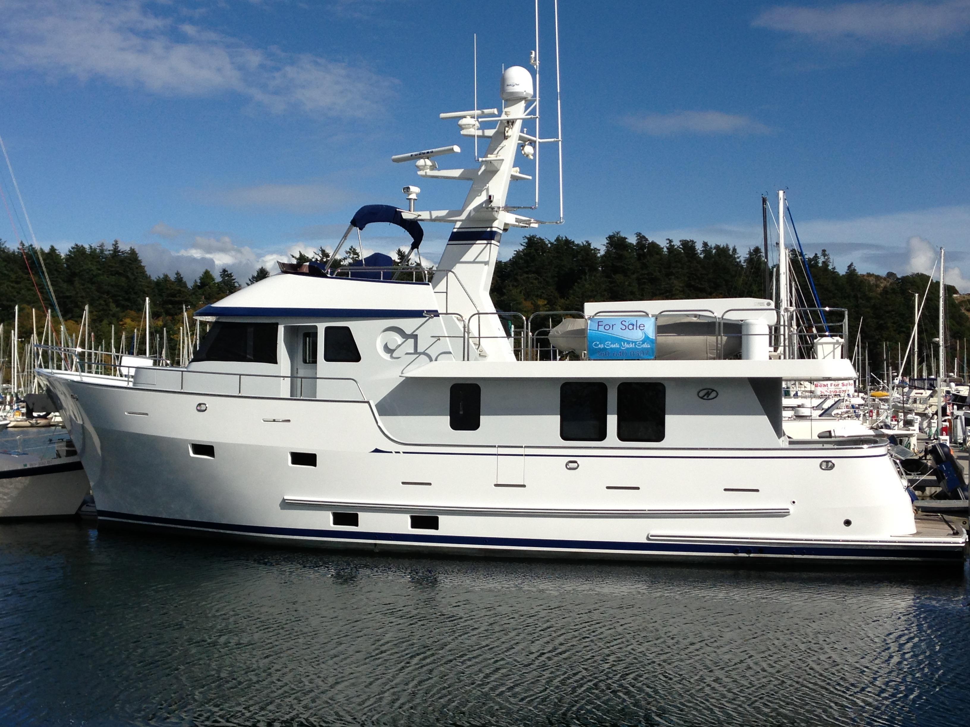 2009 Northern Marine 64 Raised Pilothouse Trawler Power