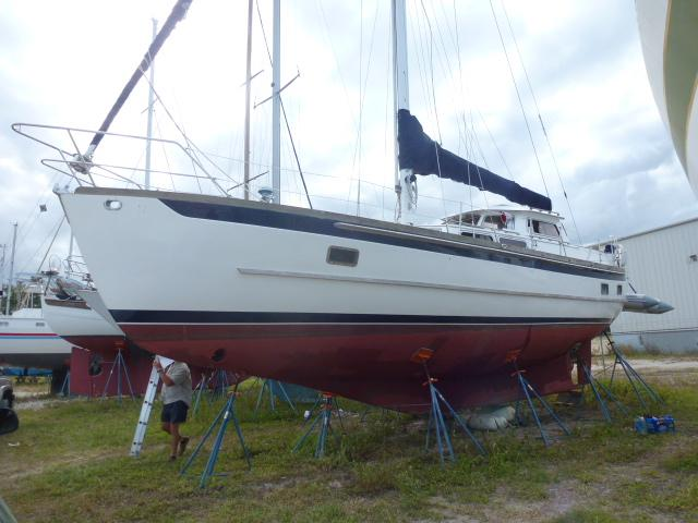 1983 Cheoy Lee 43 PilothouseMotorsailer Sail New And Used