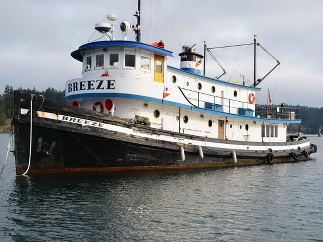 1944 Tugboat Yacht Conversion Power Boat For Sale Www