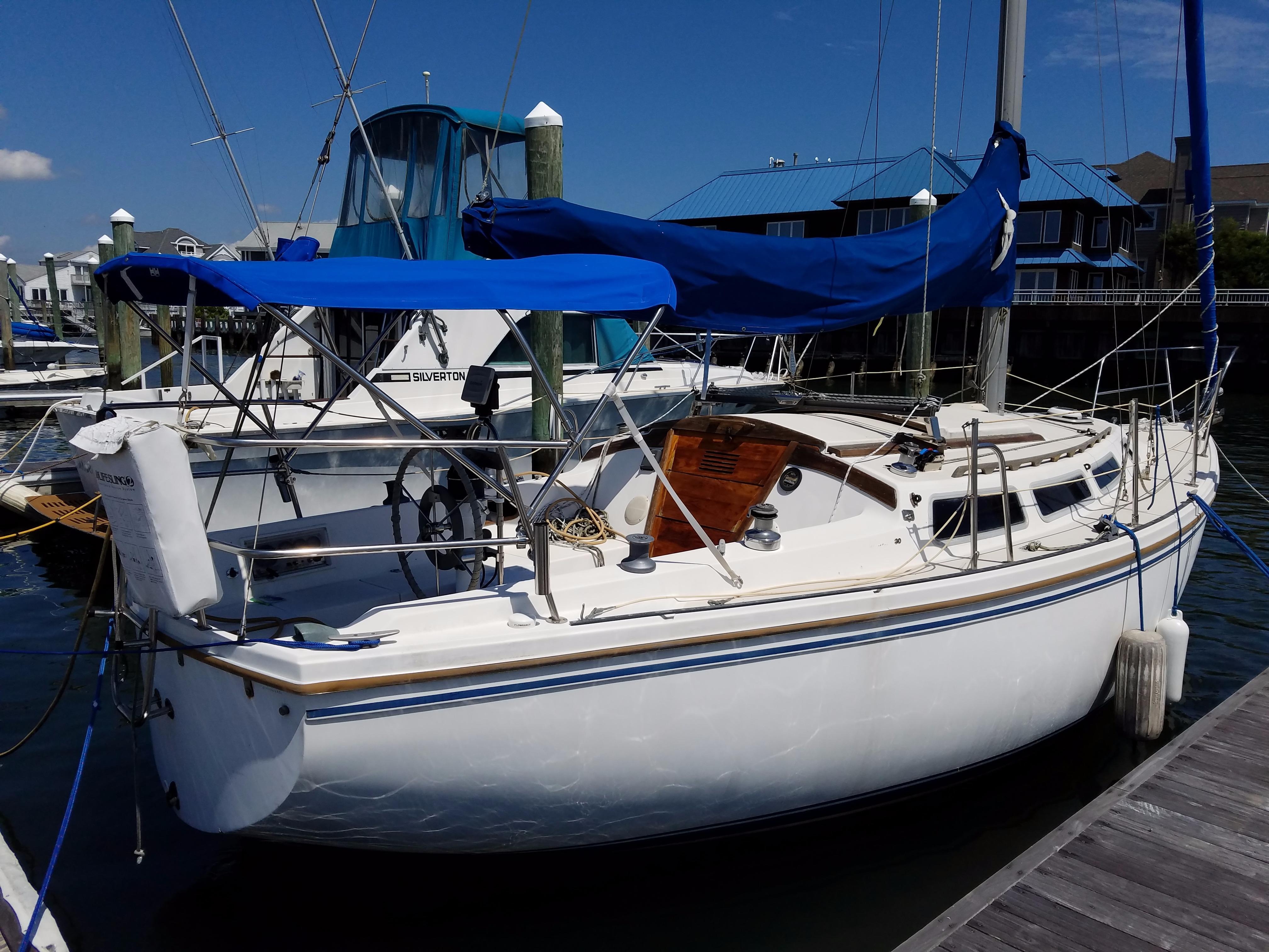 1986 Catalina 30 Tall Rig Sail New And Used Boats For Sale