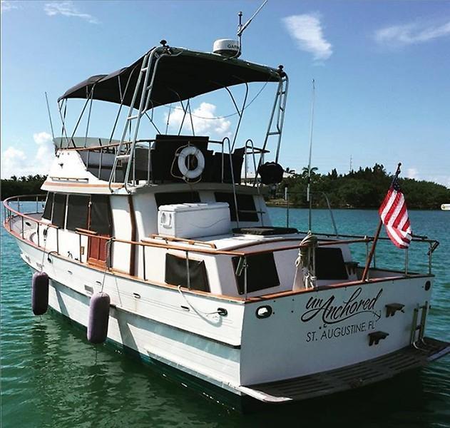 1980 Albin 36 Trawler Power Boat For Sale Wwwyachtworldcom
