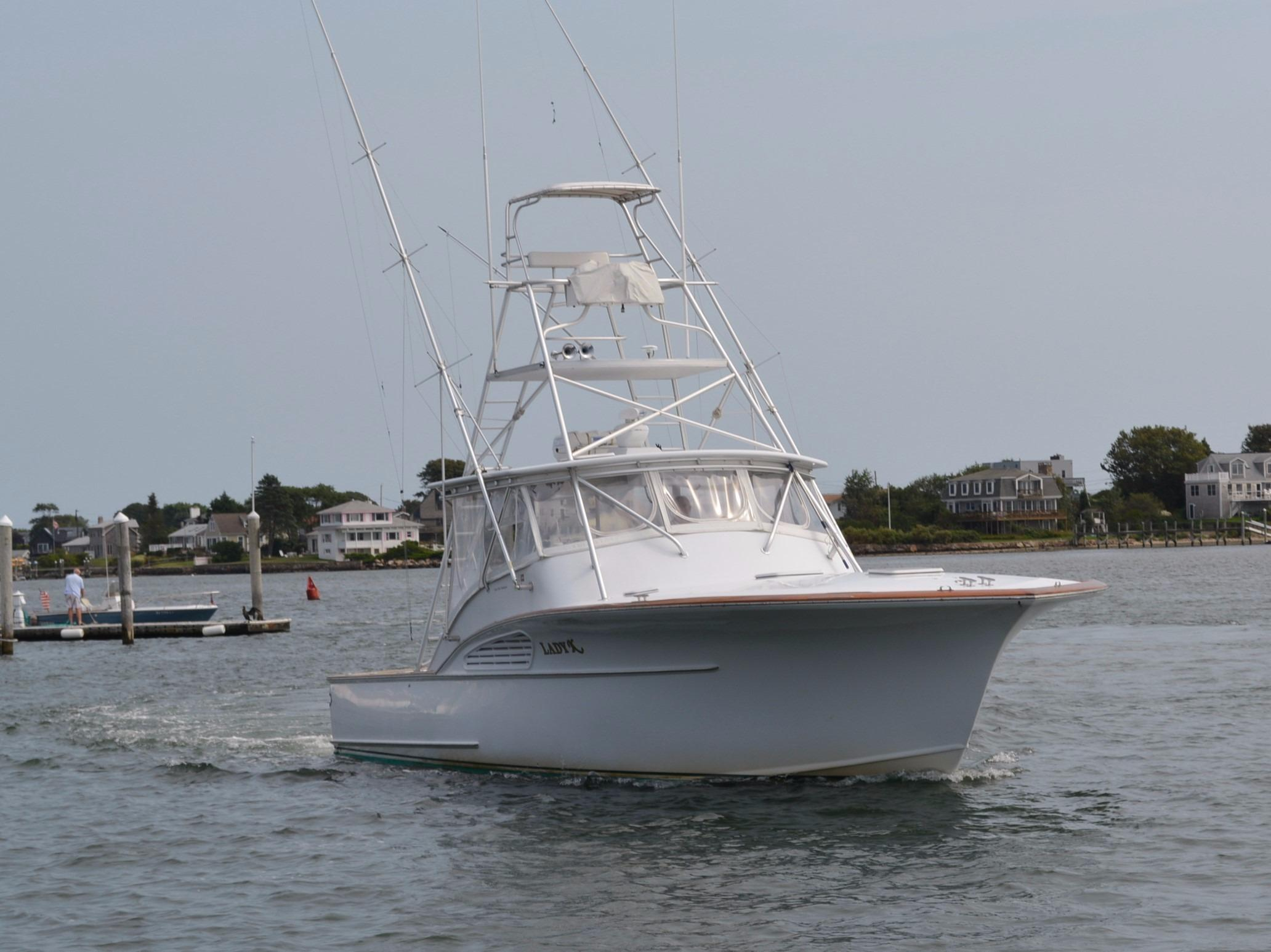 1999 Custom Carolina By Lohr 43 Express Power Boat For Sale