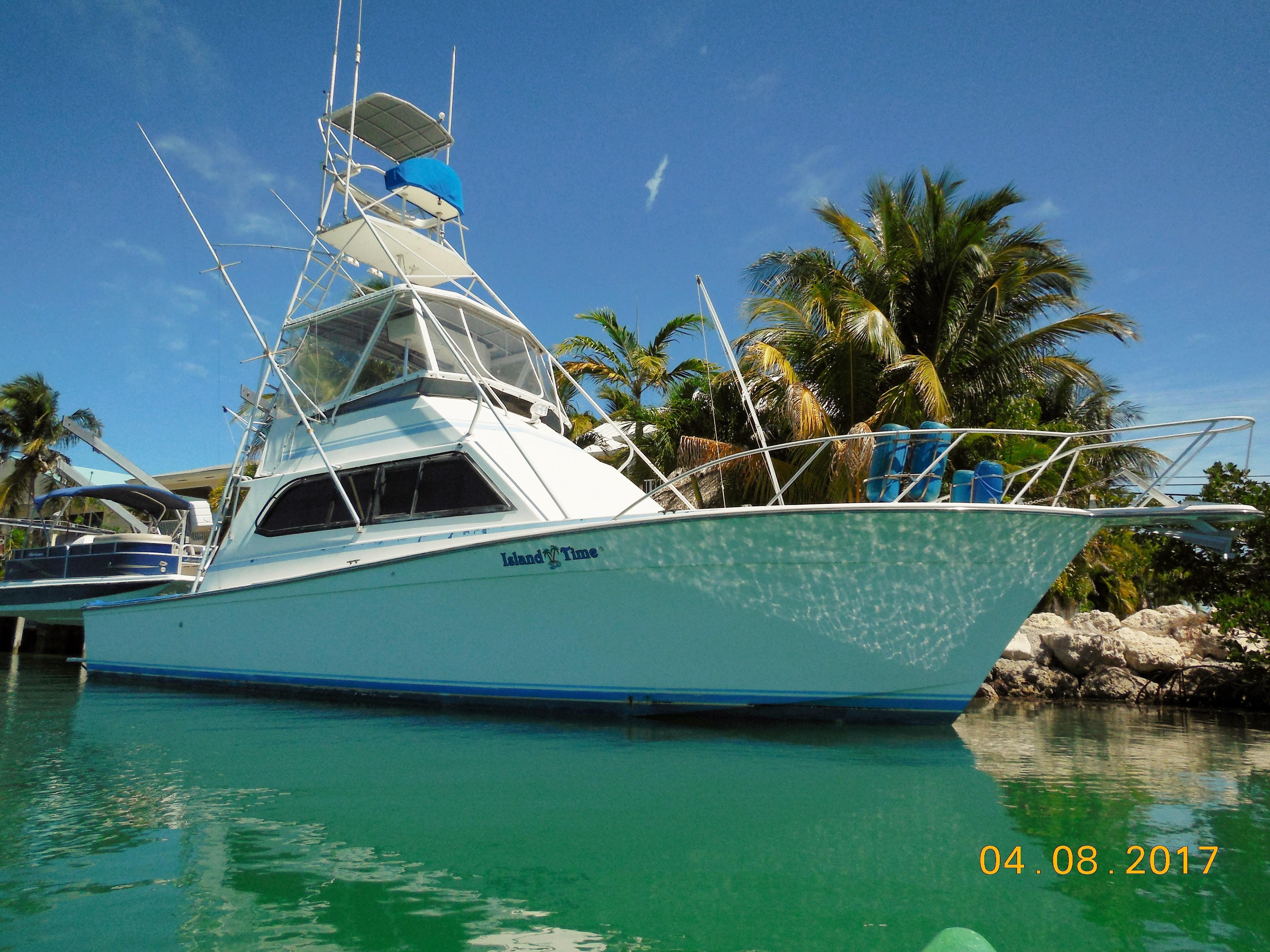 1988 Egg Harbor Boats 43 Convertible Power Boat For Sale