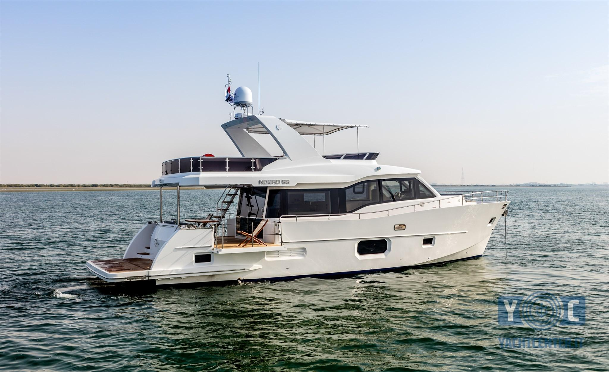 2017 Majesty Yachts Nomad 55 Ft Power Boat For Sale Www