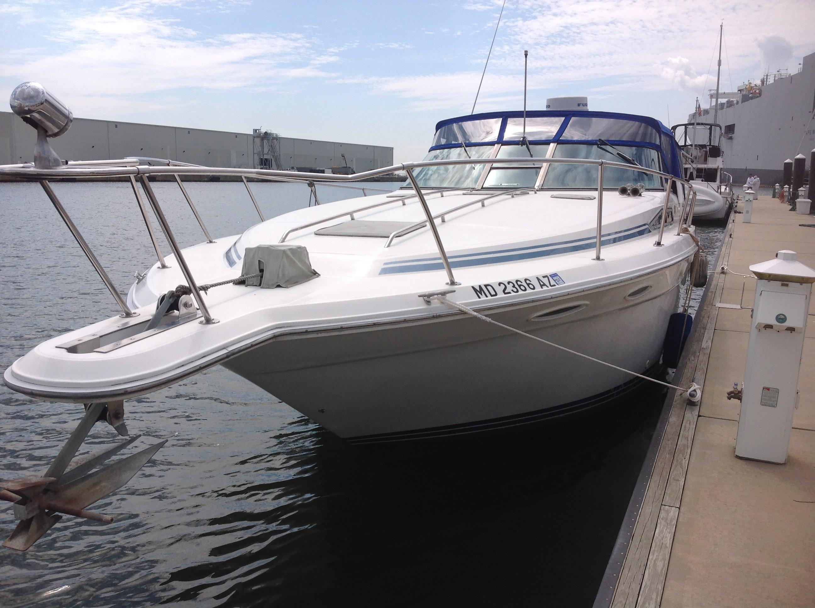 1990 Sea Ray 350 Express Cruiser Power Boat For Sale  wwwyachtworldcom
