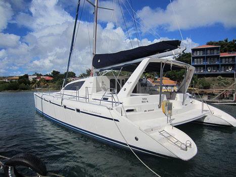 2001 Leopard 4700 Catamaran Sail Boat For Sale Www