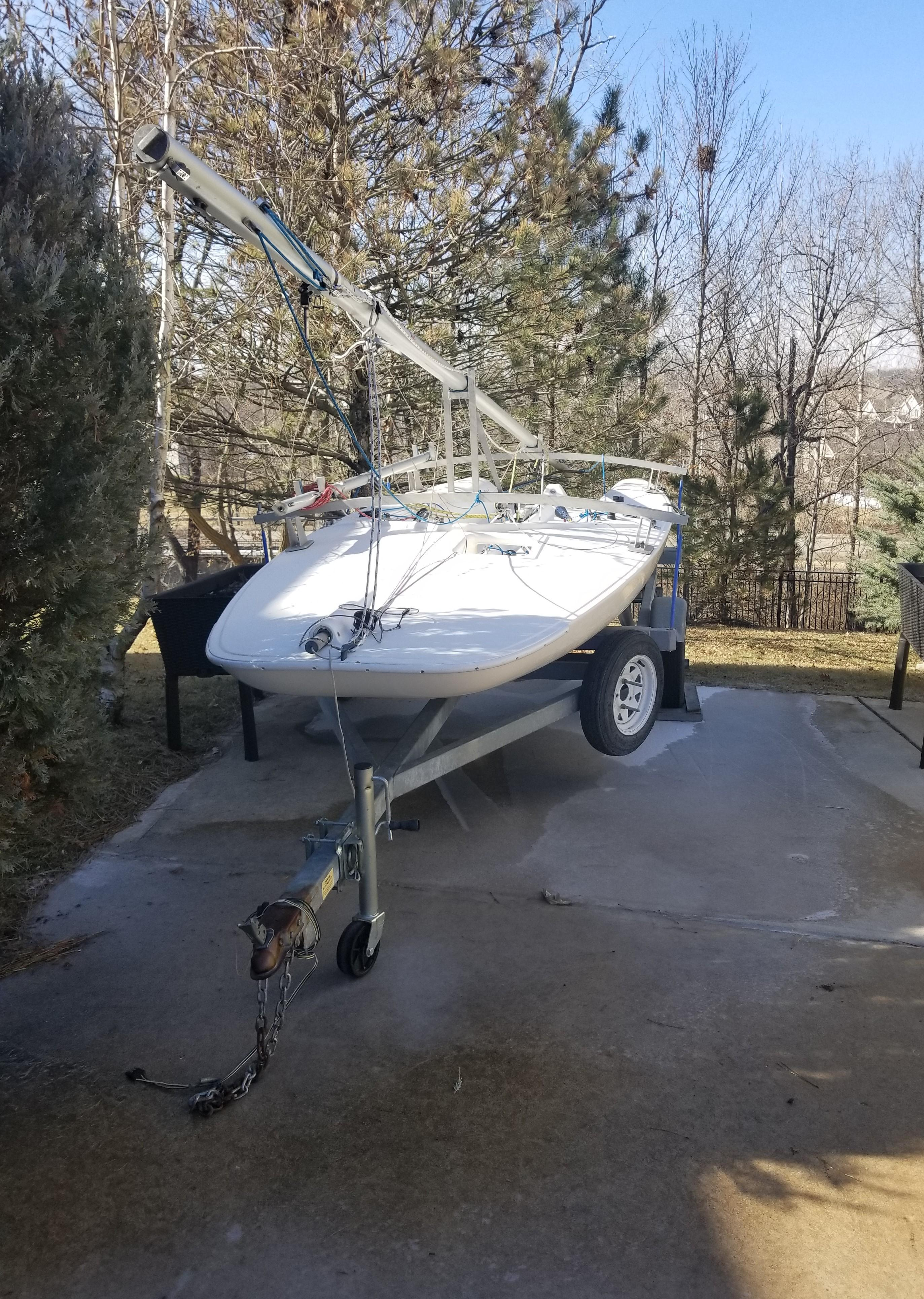 1996 Melges Super Scow 16 Sail Boat For Sale Www