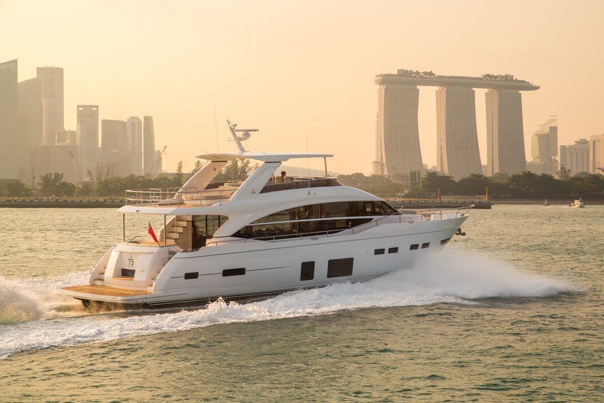 2018 Princess 75 Motor Yacht Power Boat For Sale Wwwyachtworldcom