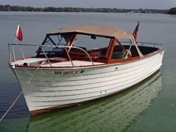 1961 Chris Craft Sea SkiffUtility Power Boat For Sale