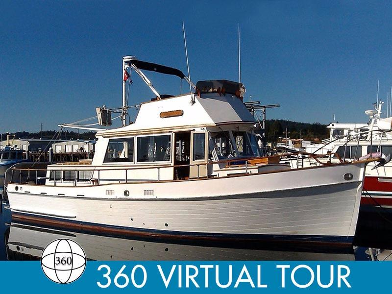 1973 Grand Banks 36 Classic Power Boat For Sale Www
