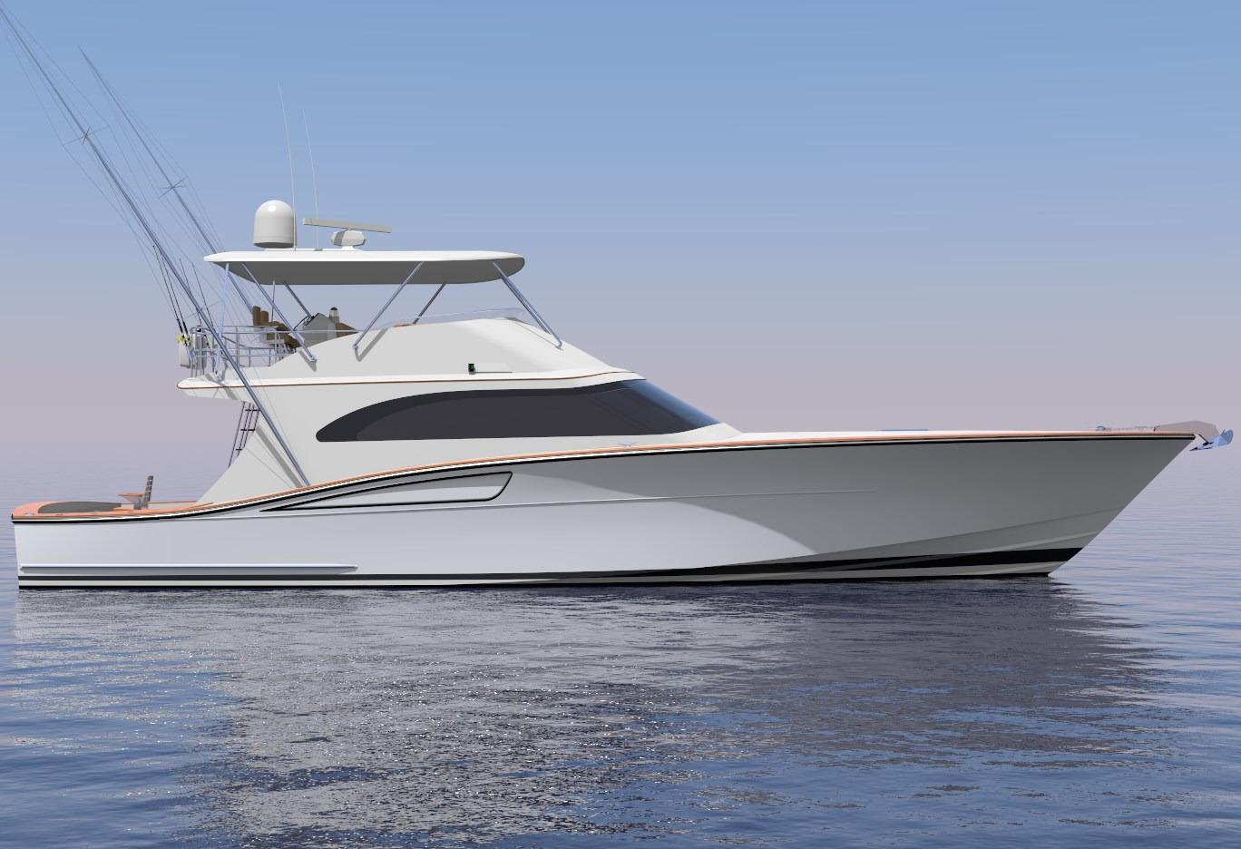 2018 Brooklin Boat Yard 65 Sportfish Power Boat For Sale